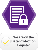 We are on the Data Protection Register