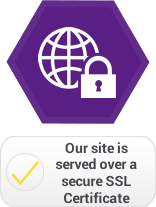 Our site is served over a secure SSL certificate
